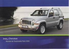 Jeep Cherokee, A6-size postcard, Paris 2004
