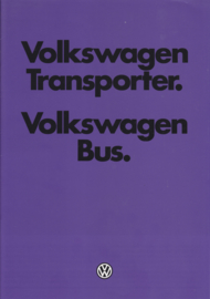 Transporter T3 brochure, 34 pages,  Dutch language, 08/1979
