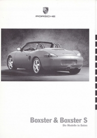 Boxster / Boxster S pricelist, 54 pages, 08/1999, German %