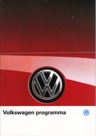 Program brochure, 12 pages,  A4-size, Dutch language, 02/1989
