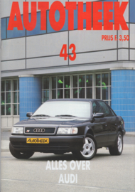 issue # 43, Audi all models, 40 pages, 3/1992, Dutch language