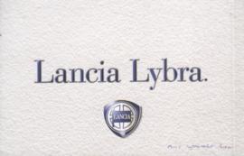 Lancia Lybra Station Wagon, 58 small size pages, German language