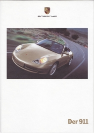 911 Carrera brochure, 116 pages, 09/1999, hard covers, German