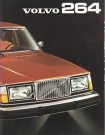 264 DL/GL Sedan brochure, 24 pages, Dutch language, 1975