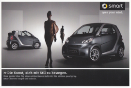 Fortwo Edition Pearlgrey brochure,  6 pages, 07/2011, German language