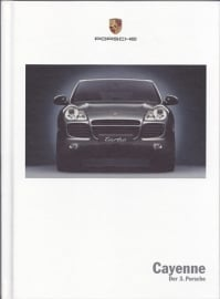 Cayenne introduction box with brochure, 170 pages, 06/2002, German