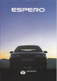 Espero brochure,  24 pages,  1994, Dutch language