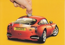 Sagaris, Dutch freecard by Boomerang freecards, P15-06 (2006) FREE OF CHARGE WITH YOUR ORDER
