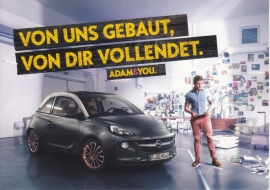 Adam postcard, Edgar freecard, # 16.846, German language