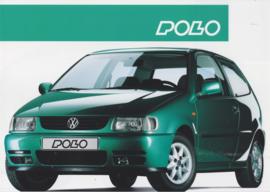 Polo Hatchback brochure, A4-size, 4 pages, Dutch language, 10/1994