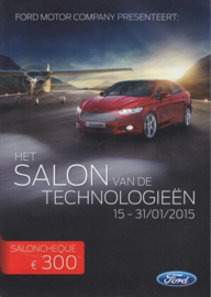 Program Salon Brussels all models, 32 pages, 01/2015, Dutch & French languages
