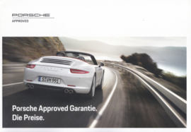 Approved Garantie (warranty) brochure, 4 pages, 03/2017, German language