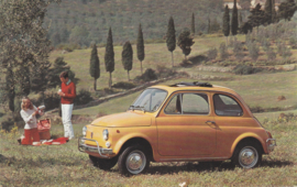 500 L, standard size, Italian postcard, undated, about 1967