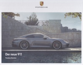 911 Carrera Coupe brochure, 48 large pages, 11/2018, German, hard covers