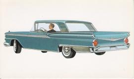 Galaxie Club Victoria, US postcard, standard size, 1959