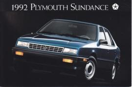 Sundance America, US postcard, continental size, 1992