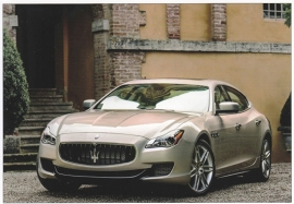 Quattroporte, postcard of Dutch Maserati Club, about 2014, # 1