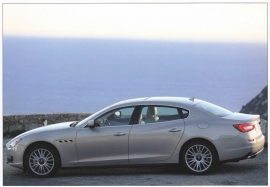 Quattroporte, postcard of Dutch Maserati Club, about 2014, # 2