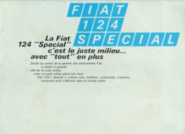 124 Special Sedan brochure, 16 pages, about 1967, French language