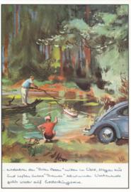 VW Beetle, DIN A6-size, P.A.R.C.-Archiv-Edition, # C 411
