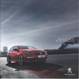 308 GTI brochure, 32 pages, Dutch language, 09/2017