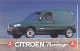 Citroen Berlingo, sticker, 15 x 10 cm
