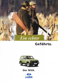 Niva 4x4 brochure, 6 pages, 01/1997, German language (Suisse)