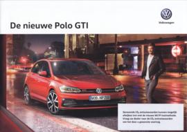 Polo GTI brochure, A4-size, 12 pages, 04/2018, Dutch language