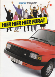 Fura L/GL Hatchback brochure, 8 pages, Dutch language, 1984