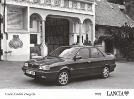 Lancia Dedra integrale - factory photo - 09/1991