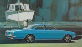 Monza Sport Coupe, US postcard, standard size, 1967