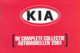 Program brochure, 12 small pages, 2001, Dutch language