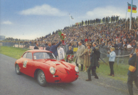 Porsche 356 at Zandvoort circuit, DIN A6-size, unused, Dutch issue, 2008