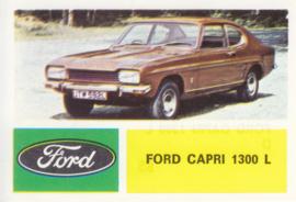 Ford Capri 1300 L, 4 languages, # 85