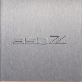 350 Z Coupe (A to Z) brochure, 36 small square pages, Dutch issue, about 2003