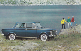 1500 Berlina, standard size, Italian postcard, undated, about 1965