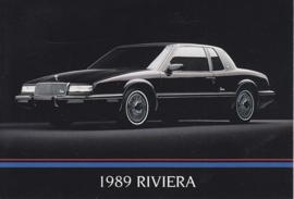 Riviera, US postcard, standard size, 1989
