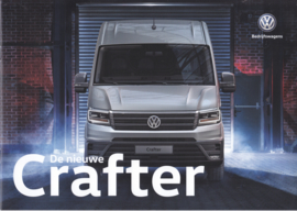 Crafter Van brochure, A4-size, 20 pages, 11/2016, Dutch language