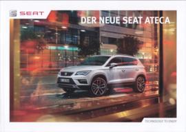 Ateca brochure, 52 pages, 12/2016, German language