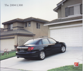L300 Sedan & Wagon 2004 brochure, 10 pages, # AutoL30004MY, USA