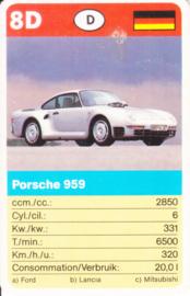 959 - card 8D - size 10 x 6,5 cm, French/Dutch language