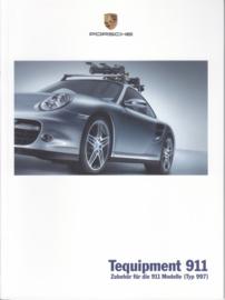 911 Tequipment (997) brochure, 44 pages, 06/2006, German language