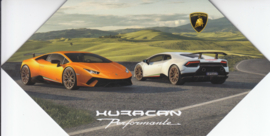 Huracan Performante, 4 page brochure, English language, 2017