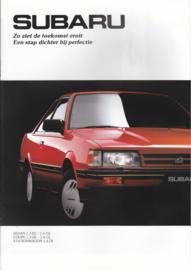 L-Series Sedan/Coupé/Stationwagon brochure, 16 pages, Dutch language, 1990