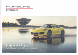 Driving Experience brochure , 8 pages, 01/2018, Dutch (Belgium)