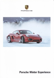 Winter experience brochure , 4 pages, about 2014, Swedish language