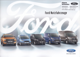 Commercial vehicles brochure, 20 pages, A4-size, 12/2016, German language