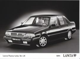 Lancia Thema turbo 16v LX - factory photo - 09/1991