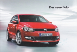 Polo small brochure, 6 pages, DIN A6 size, German language