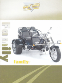 Trike Family by Easy Trike brochure, 4 pages, A4-size, about 2007, German language